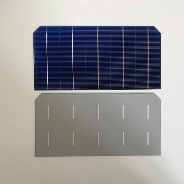 100pcs Monocristalino células solares 0.5V 2.5W UM