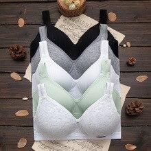 Girl Underwear Training-Bras Puberty-Teen Teenage Small Sport Cotton Cloth Child Youth