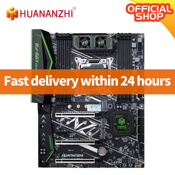 HUANANZHI X99 F8 X99 Motherboard Intel XEON E5 LGA2011-3 All Series DDR4 RECC NON-ECC memory NVME USB3.0 ATX Server workstation 1
