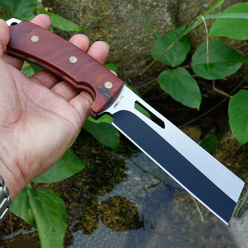 New Tactical Full Tang Fixed Knife 9Cr18MoV Blade High Hardness Wildness Survival Hunting Knives Camping Tools