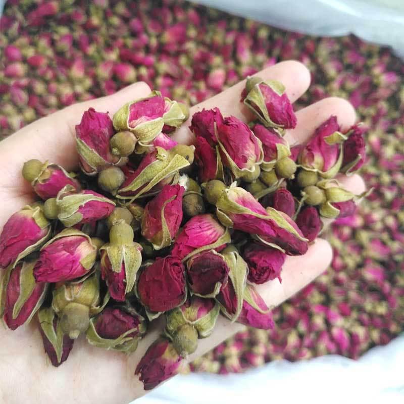 Rose Tea Dried Roses Pingyin Roses Edible Rose Tea Fresh Natural Buds Bulk 4