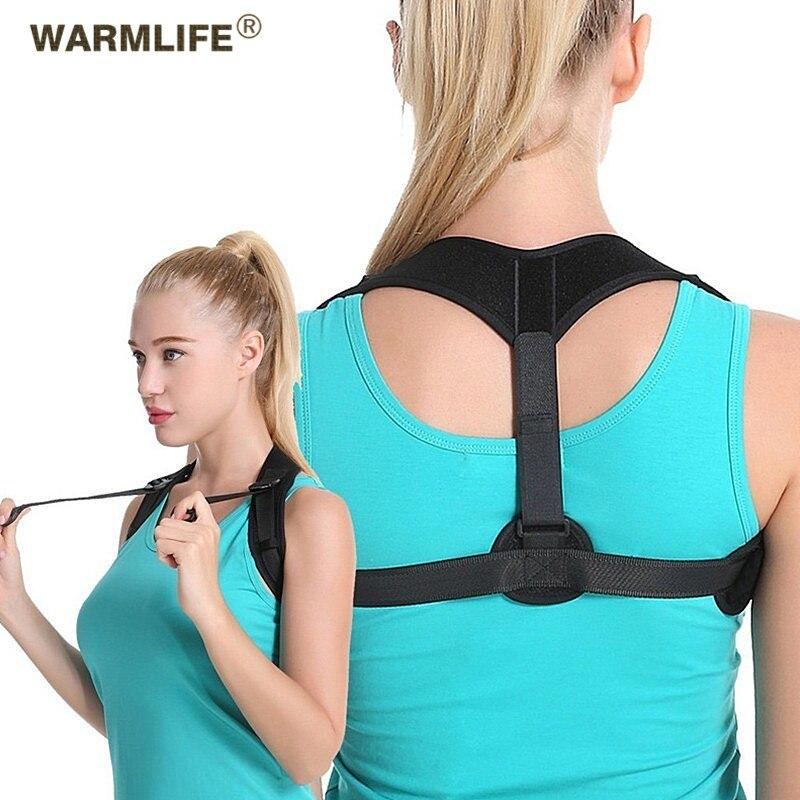 Back Posture Corrector Shoulder Lumbar Brace Spine Support Belt Adjustable Adult Corset Relieve Pain Posture StrapsBody Health