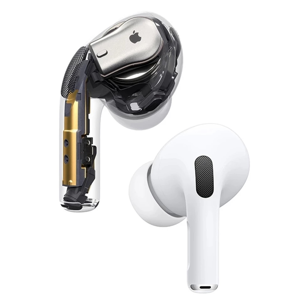2021 APPLE AirPods Pro Wireless Bluetooth Earphone Air Pods 3 Active Noise Cancellation with Charging Case Quick Charging 3
