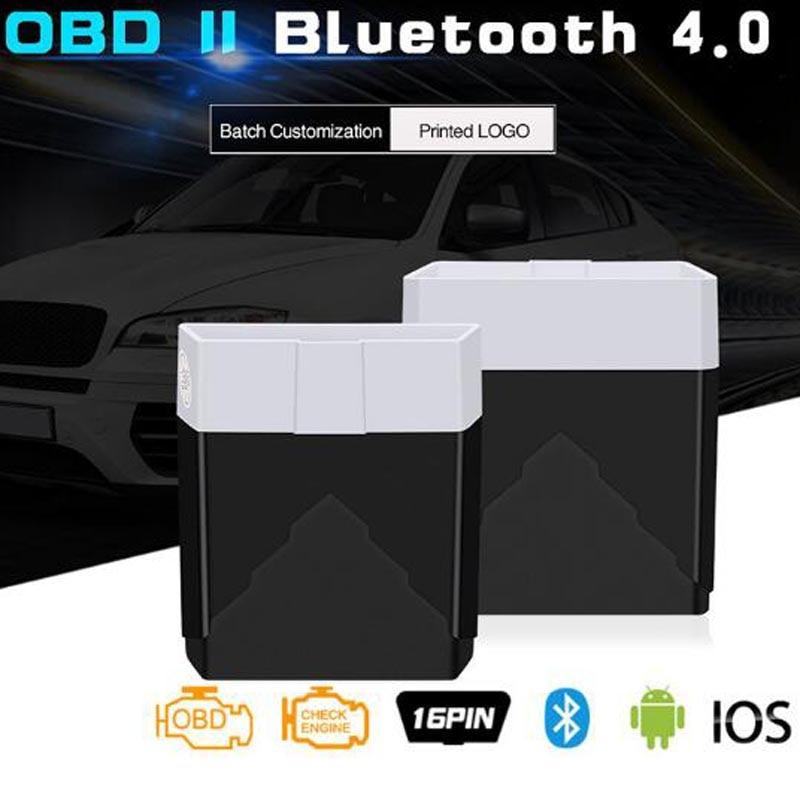Mini OBD2 ELM327 Diagnostic Tool Bluetooth 4.0 Scan Tool Better Than Elm 327 V1.5 Car Diagnostics Odb2 Obd2 Scanner Work IOS