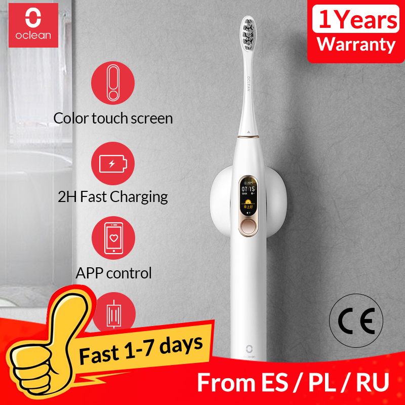 Global Version Oclean X Sonic Electric Toothbrush  Intelligent Adult Waterproof Ultrasonic Automatic Toothbrush USB Rechargeable