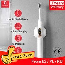 Globale Version Oclean X Sonic Elektrische Zahnbürste Intelligente Erwachsene Wasserdichte Ultra sonic automatische Zahnbürste USB Aufladbare