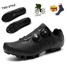 Sapatos de ciclismo homem spd sapatos de bicicleta de estrada tênis de montanha esportes ao ar livre auto-bloqueio zapatillas de ciclismo mtb tênis de bicicleta