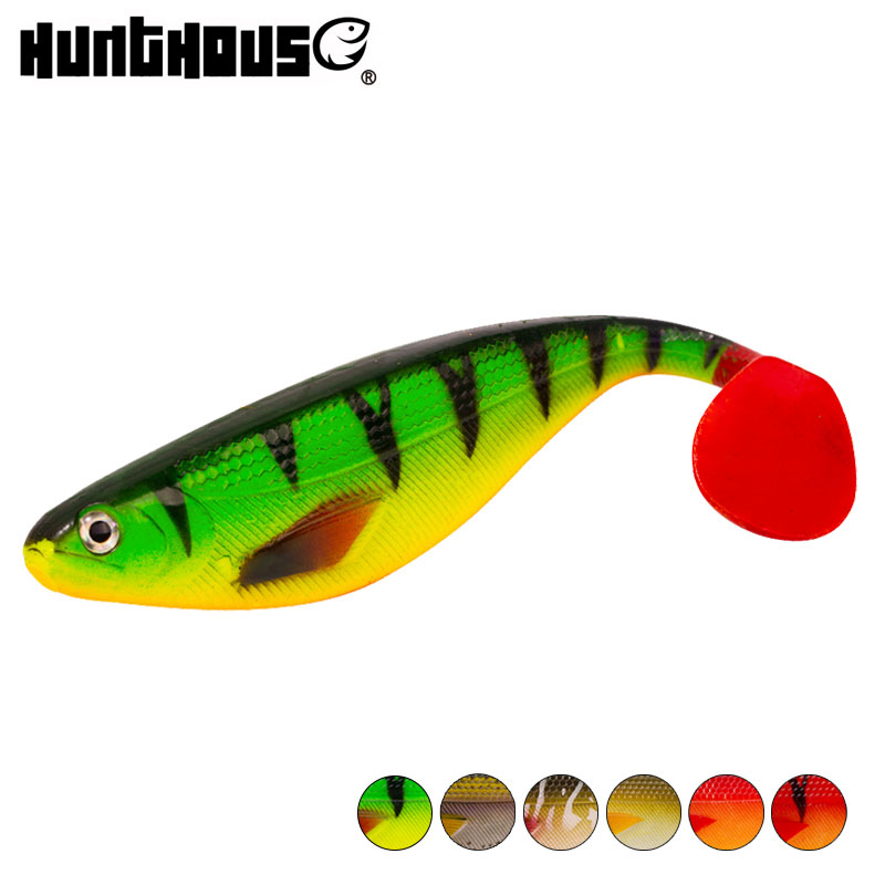 Hunthouse Shadteez Soft Trout Lure Artificial Bait Big Shads Soft 170mm 35g PVC Material For Sea Bass Perch Zander