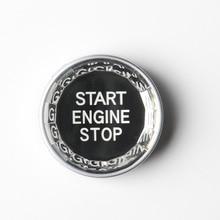 Кнопка остановки запуска двигателя автомобиля, одна кнопка, крышка, запчасти для авто, модификация автомобиля TD326