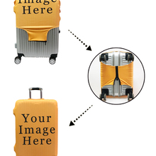 Luggage-Cover Case Travel-Accessories Trolley Printing Elastic Juses Anti-Dust Vintage