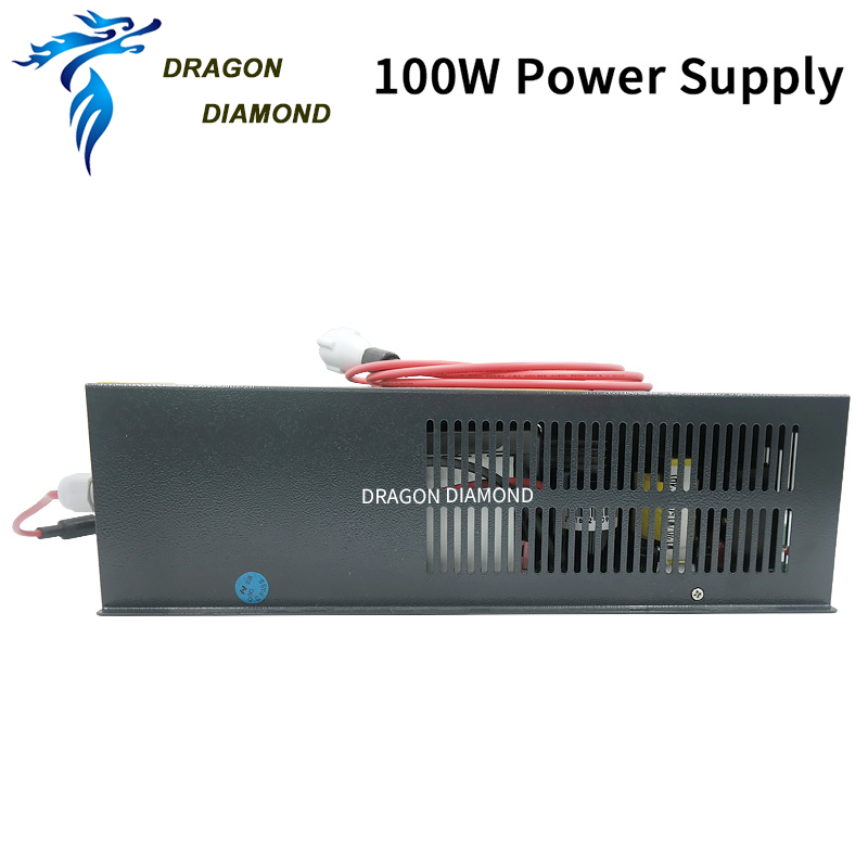 Купить с кэшбэком HY-W120 120W Co2 Laser Power Supply Suitable For 100 To 120W CO2 Laser Tube For Co2 Laser Engraving And Cutting Machine