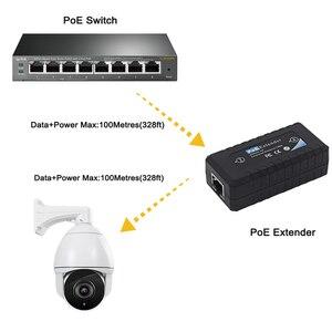 Image 5 - 最新poeエクステンダーIEEE802.3af ip cctvカメラsyestem伝送距離エクステンダー 120 メートル