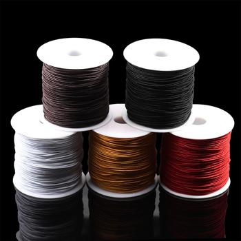 7m/bag 1mm Round Elastic Cord Beading Stretch Thread/String/Rope for Necklace Bracelet Jewelry Making Supply 1