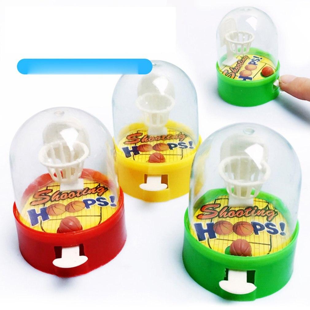 Mini Pocket Basketball Palm Basketball Shooting Game Children'S Puzzle Desktop Toys Parent-Child Interactive Toys