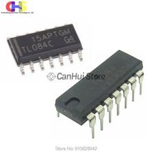 10 шт./лот TL084 TL084C TL084CDR лапками углублением SOP-14 TL084CN DIP-14 TL084CP SMT TL084CDT новый оригинальный в наличии IC