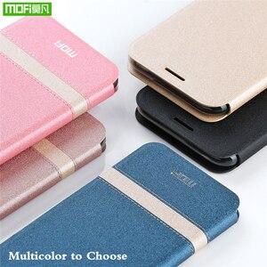 Image 3 - Original MOFi Abdeckung Für Xiaomi Mi Spielen Fall Telefon Shell Für Redmi 7 Pro Fall Neue TPU Leder Flip Cover silizium Schützen Luxus