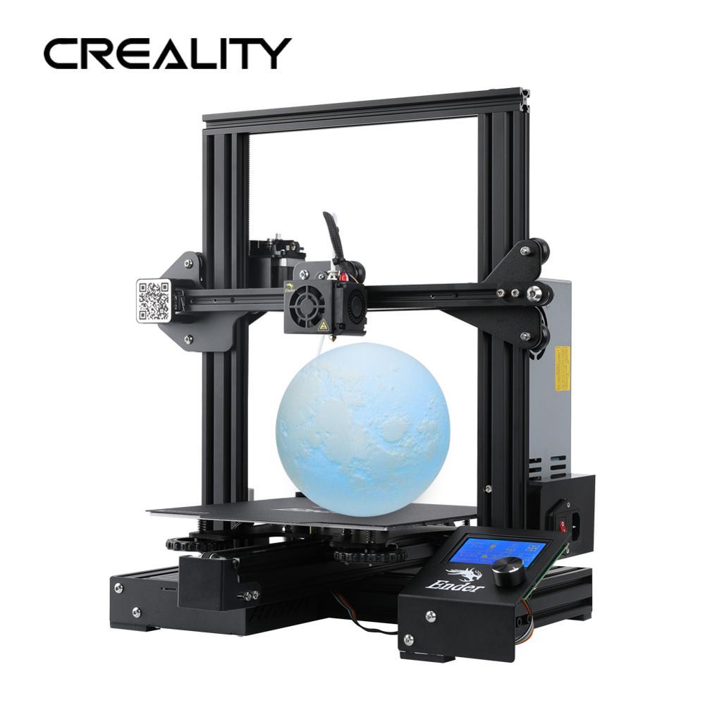 CREALITY 3d принтер обновление видения Ender-3 профессиональный принтер DIY комплект Ender-3 PRO с МВт блок питания 3D Drucker Impresora Принтер Комплект