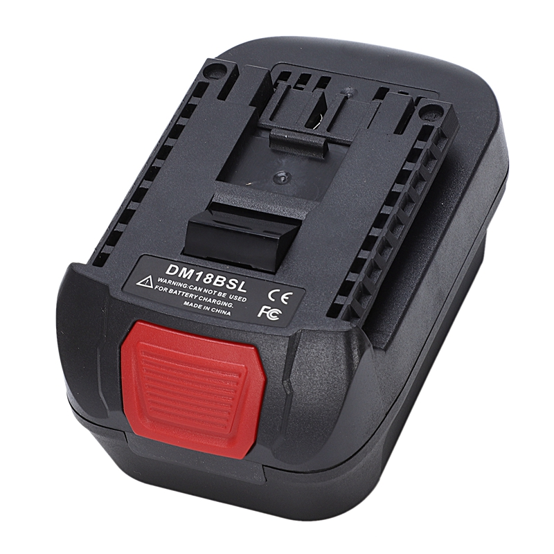 DM18BSL Battery Converter Adapter For Milwaukee 18V M18 Dewalt 20V Li-Ion Battery DCB200 Used To For Bosch 18V Tool