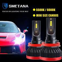 2 шт автомобисветодиодный светодиодные лампы h4 h7 h1 h8 h11