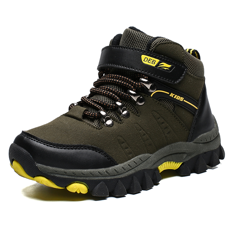 ULKNN Boys Shoes 7 Children's Sports Shoes 8 Big Children 2019 New Autumn 10 Outdoor Hiking Shoes 12 Slip 15 Years Old