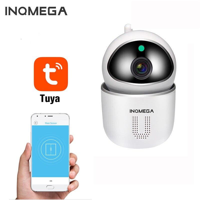 INQMEGA Tuya 1080P bezpieczeństwo w domu ip Kamera wifi CCTV Kamera bezprzewodowa sieć wifi Kamera monitorująca niania elektroniczna baby monitor