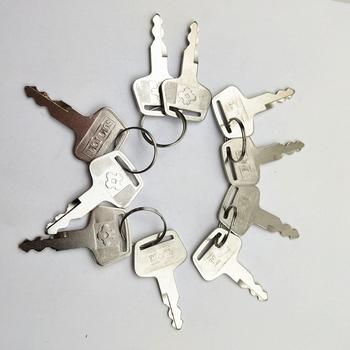 10 przycisk pc dla Sumitomo zamek na klucz Sumitomo pompa hydrauliczna blokada drzwi koparka kluczyk zapłonowy do koparki SUMITOMO tanie i dobre opinie annhoo CN (pochodzenie) For Sumitomo s450