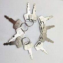 10 przycisk pc dla Sumitomo zamek na klucz do Sumitomo pompa hydrauliczna blokada drzwi koparka kluczyk zapłonowy do koparki SUMITOMO