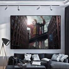Плакаты и принты клоуна современный абстрактный портрет картины