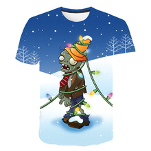 Summer Cool Children Clothes Cute Plants vs. Zombies Wars Series T-shirt Cartoon Boys T Shirt T Kid Girl Tops Teenager Tshirt children s clothes plants vs zombies wars t shirt boys t shirt kids cartoon tshirt baby girls boys clothing summer cool tops tee