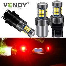 цена 1pcs Car LED Brake Light For seat leon mk3 2 mk2 ibiza citroen c4 c5 c3 berlingo W21/5W W21W P21/5W BAY15D BA15S P21W 3157 Bulb онлайн в 2017 году