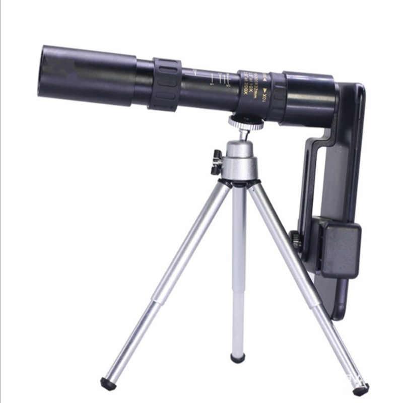 Портативный Телескопический Монокуляр 10-300X40, телескопические телескопы высокой мощности