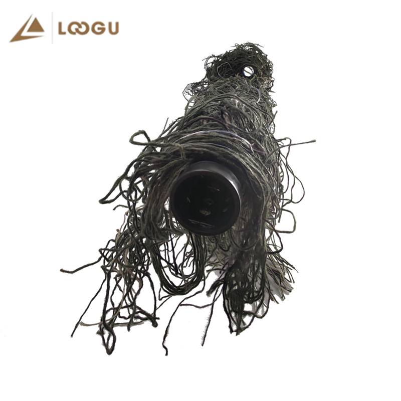 1.2m Camo Gun Wrap Elastic Ghillie Accessories Tactical Camouflage Sniper Gun Rope Airsoft Paintball Outdoor Hunting Snow Jungle