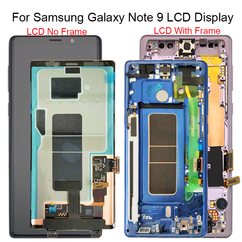 For Samsung Galaxy Note 9 Lcd Display Touch Screen Digitizer Assembly For Samsung note 9 n960 N950F N960D N960DS lcd with Frame-in Mobile Phone LCD Screens from Cellphones & Telecommunications