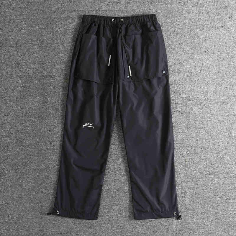 19FW A-COLD-WALL ACW pantalon hommes femmes Streetwear décontracté Joggers pantalon hommes mode damier A-COLD-WALL VETEMENTS pantalon