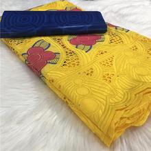 2.5 y Swiss lace fabric +2.5 Bazin Brode riche embroidery African 100% cotton fabrics voile popular Dubai style 2L2