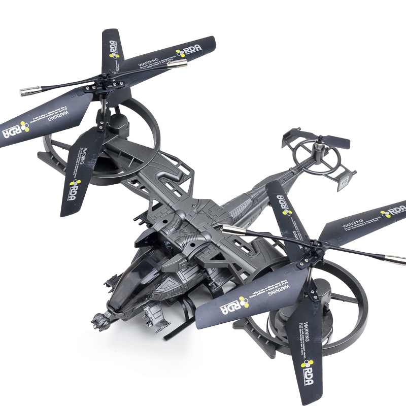 RC Fighter YD-718 RC Helicopter 4CH 2.4Ghz  Avatar Aircraft double blades RTF big helicopter rc drone toys 1