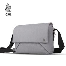 CAI 6 ألوان المغلف رسول حقيبة كتف عبر الجسم زوجين صغيرة عادية اللوحي حقائب للمراهقين بنين بنات حقائب المحافظ