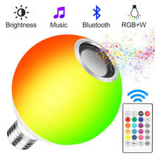 цены Light lamp LED Color Changing RGB Bulb 15W RGB Led Lamp Spotlight music Remote Control LED Bulbs Magic Light Smart music light