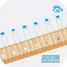 10pcs/100pcs Japan original muRata 0.1uF 104 50v 100nF audio Non-Polar monolithic capacitor