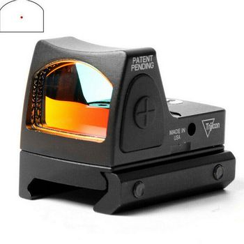 Mini RMR Red Dot Glock Sight Collimator Glock Rifle Reflex Sights Scope for Airsoft Hunting Handgun Accessories 20mm Weaver Rail