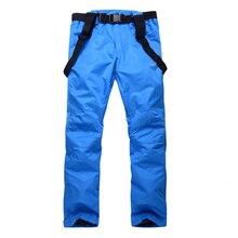 Windproof Couple Ski Pants Men And Women Hot Sale Snow Trousers Outdoor Waterproof Warm Lovers Winter Ski Snowboard Pants Brand
