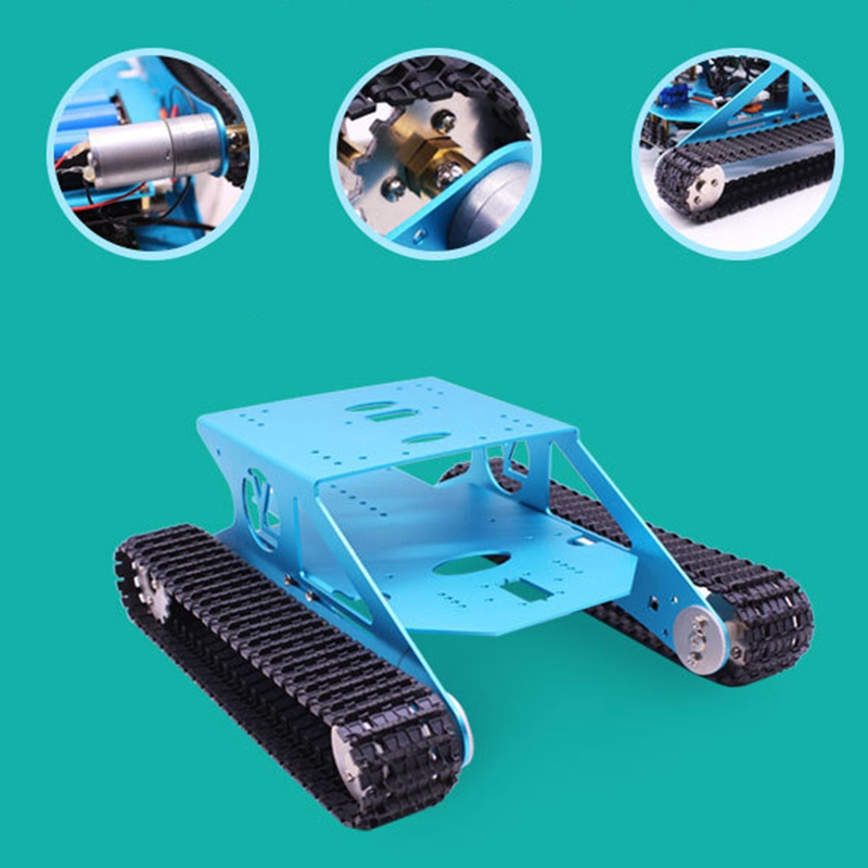 Robot Car Tank Kit For Arduino Programmable Smart Tank Chassis Robot Vehicle, Smart Learning & Stem Kids Educational Toy Super - 6