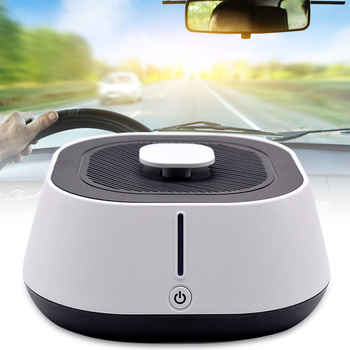 2 in 1 Air Purifier Freshener Cleaner Anti PM2.5 Low Noise for Car Home Room SP99