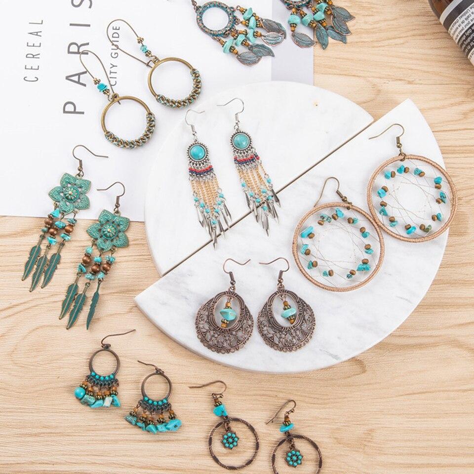 Jwellmart Indian oxydé Afghani Gypsy Bohemian Fashion Boucles d/'oreilles livraison gratuite