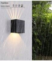 Wand Licht Outdoor Wasserdicht Einstellbare Winkel Platz Außen Korridor Feuchtigkeit-beweis Dekorative Lampen für garten und terrasse