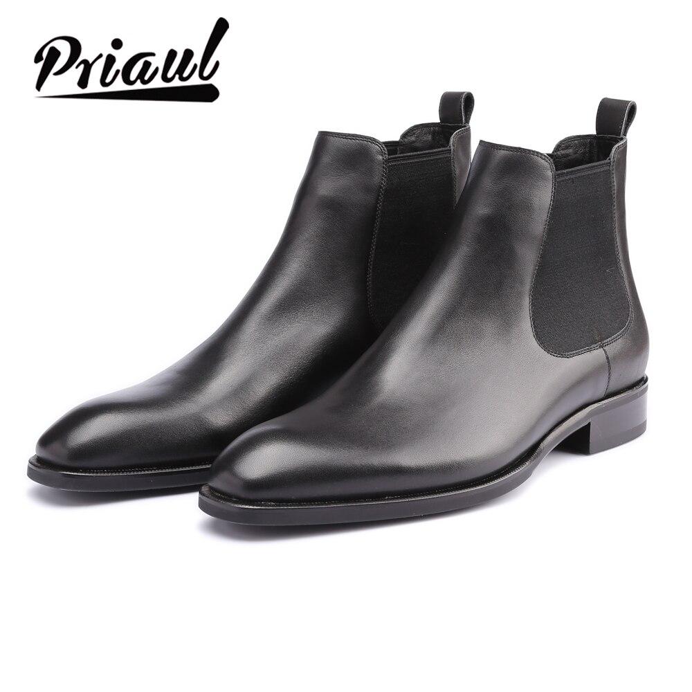 Мужские ботинки «Челси» из натуральной кожи; ручная работа; для офиса; для торжественных мероприятий; для свадебной вечеринки; оригинальные винтажные мужские зимние ботинки в стиле ретро на заказ