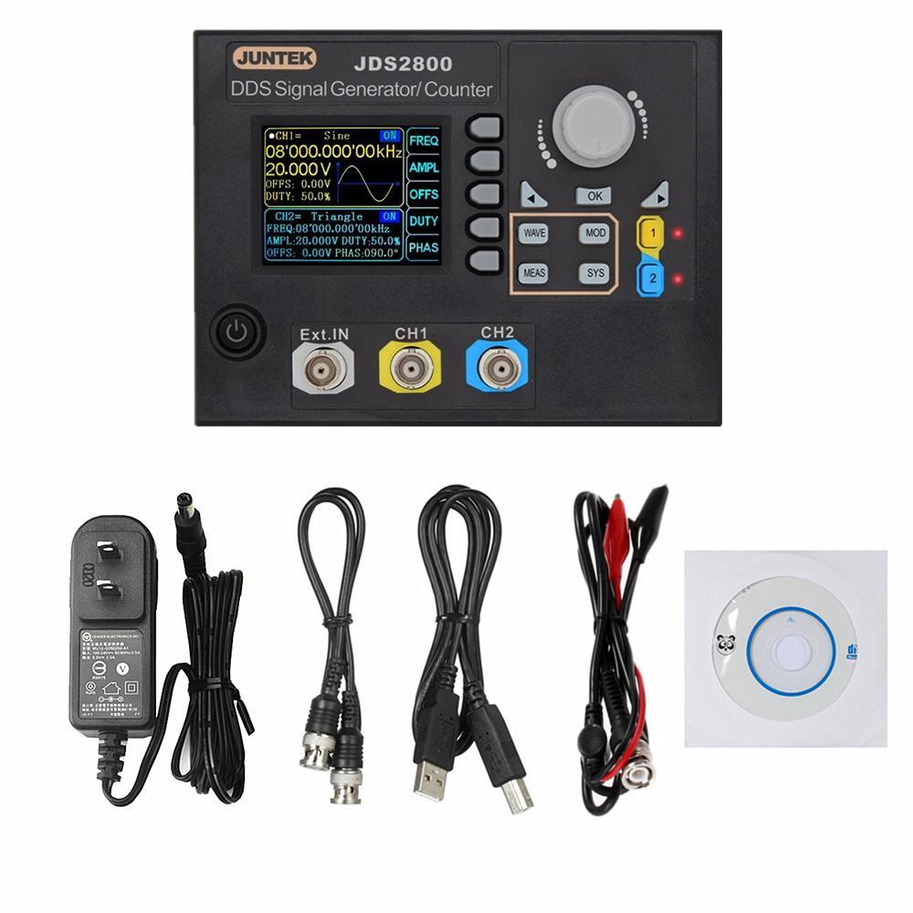 15MHZ Signal Generator Digital Control Dual-channel DDS Signal Generator Pulse Signal Source Meter 40% Off
