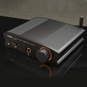 Lepy radio HiFi Bluetooth4.2 klasa T wzmacniacz cyfrowy o wzmacniacz mocy Mini Home Stereo o wzmacniacz 50Wx2 LP-S51T (wtyczka EU)