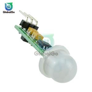 HC-SR505 Mini A Raggi Infrarossi PIR Sensore di Movimento di Precisione A Raggi Infrarossi Detector Module per arduino