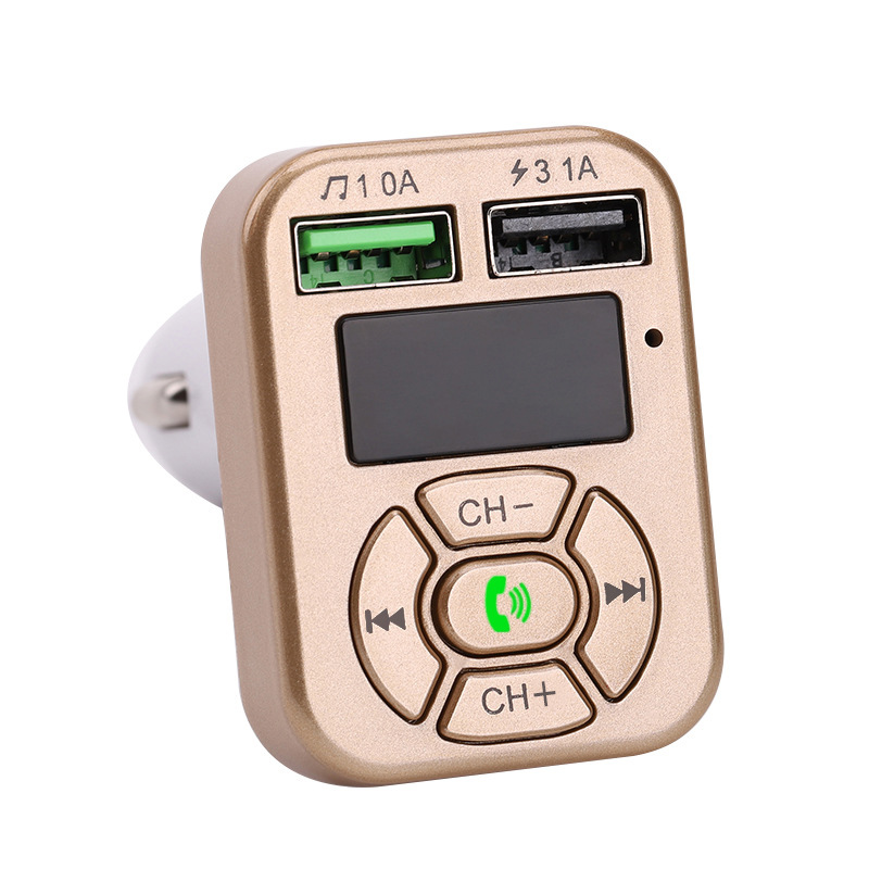 Bequem Auto Bluetooth <font><b>MP3</b></font> <font><b>Player</b></font> Freisprechen Fm Karte Maschine Dual Usb Port <font><b>MP3</b></font> <font><b>Player</b></font> image